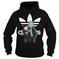 Official Rick and Morty adidas shirt Hoodie