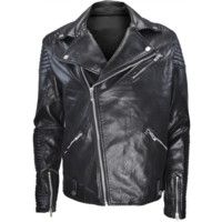 SPZN ELITE BIKER LEATHER JACKET