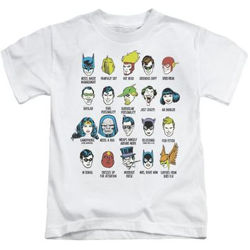 Dc - Superhero Issues Short Sleeve Juvenile 18/1 Shirt Officially Licensed T-Shirt