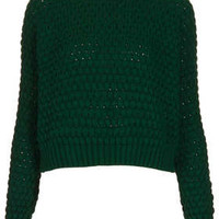 Knitted Chunky Bobble Jumper