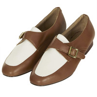 MATIE Two Tone Monk Shoe - New In - Topshop
