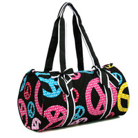 Peace Sign Duffle Bag