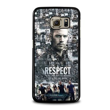 FAST FURIOUS 7 PAUL WALKER Samsung Galaxy S6 Case Cover