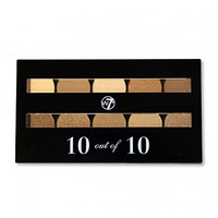 W7 10 out of 10 Eyeshadow Palette 10g-Browns