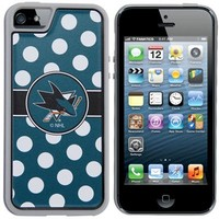 San Jose Sharks Polka Dot iPhone 5 Guardian Case