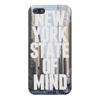 New York State of Mind iPhone 5 Cover