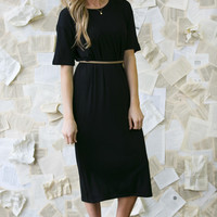Sleek & Slim T-shirt Dress
