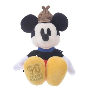 Disney Store Japan 90th 1937 Mickey Lonesome Ghosts Plush New with Tags