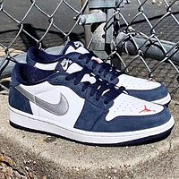Nike SB x Air Jordan 1 Low Fashion  New Women Men Sports Leisure Running Shoes