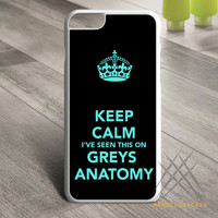 Grey_s Anatomy Pattern Custom case for iPhone, iPod and iPad