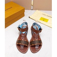 Louis Vuitton LV Flat Sandals