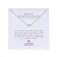 """Dogeared """"Pearls of . . . Friendship"""" Freshwater Cultured Pearl Necklace, 18.75"""""""