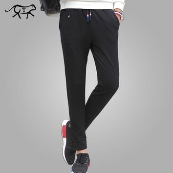 Spring Mens Sweatpants Thin Teenage Boy Trousers Male Casual Straight Pant Fashion Slim Fit Pants Student Plus Size 4XL 5XL 6XL