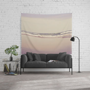 Sea Waves Wall Tapestry by VanessaGF