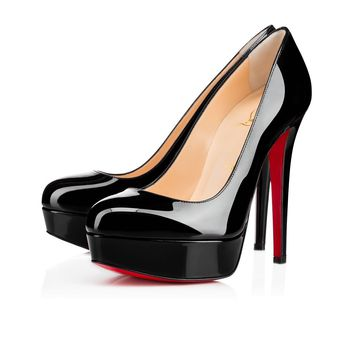 Christian Louboutin Bianca Patent Leather Platform Pump (100% Authentic & New)