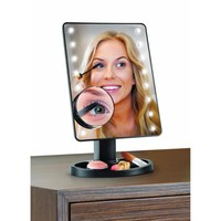 16 LED Light Up Rotating Makeup Mirror