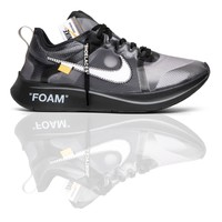 Off-White x Zoom Fly SP 'Black'