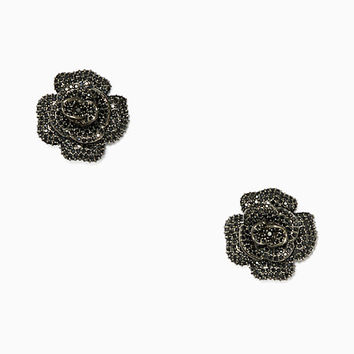 midnight rose rose studs