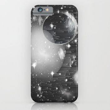 Space Pixels iPhone & iPod Case by Ducky B