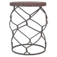 One Kings Lane - Three Hands - Gate Wire Stool