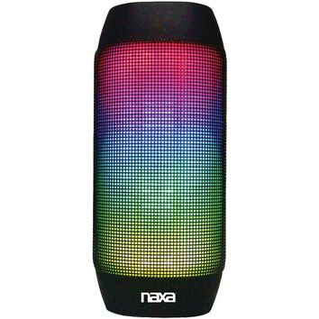 Naxa(R) NAS-3062 Bluetooth(R) Speaker with LED Lighting Effects