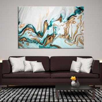 92648 - Abstract Wall Art | Marble Canvas Print | Abstract Watercolor Art | Refined Wall Art | Large Marble Wall Art | Gift for Her