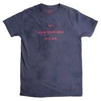You're Doing Great, navy wash graphic tee by Altru Apparel
