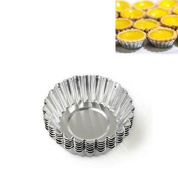 CREYLD1 3Pcs Round Shape Cake Cupcake Liners Bakery Baking Mold Bakeware Muffin Egg Tart Mold Cake Cup Baking Pastry Accessories