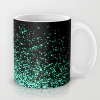 infinity in mint green Mug by Marianna Tankelevich