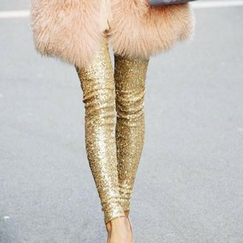 d9c366a8b Best Gold Sequin Leggings Products on Wanelo