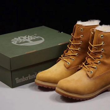 Timberland 17467 Winter Women BOOTS Color Yellow