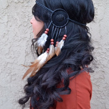 Tribal Dreamcatcher Headband #A1012