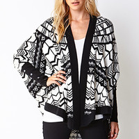 Explorer Open-Front Cardigan