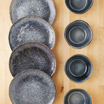 8-Piece Clay Reactive Glaze Dinnerware Set | Urban Outfitters