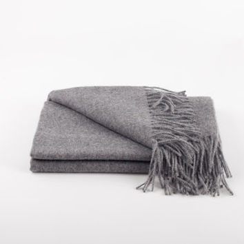 Alpaca Throw 'Cusco Grey'