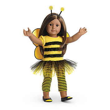 American Girl® Clothing: Bee Myself Outfit for Dolls + Charm