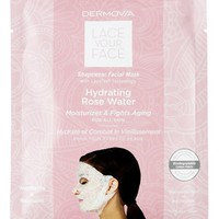 Dermovia Lace Your Face 'Hydrating Rose Water' Mask | Nordstrom