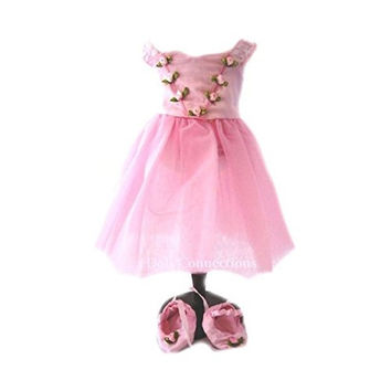 Pink Prima Ballerina Ballet Dance Outfit - Fits American Girl Dolls - QUALITY...
