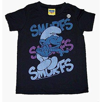 Junk Food Girls Smurfs Smurfs Smurfs Tee Shirt