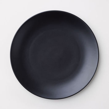 Porcelain plate - Black - | H&M GB