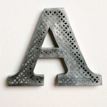 Acid Etched Letter - Urban Outfitters