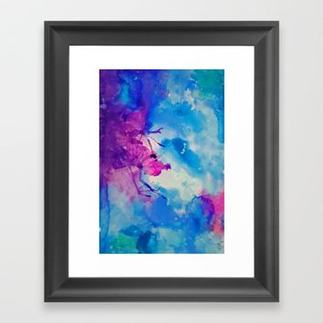 Emanate Framed Art Print by DuckyB