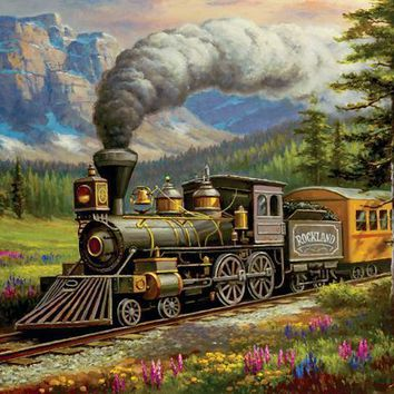 Rockland Express 500pc Jigsaw Puzzle