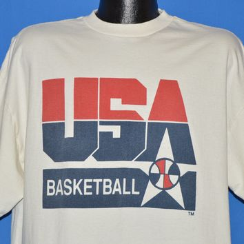 90s USA Basketball Olympics Games Barcelona t-shirt Extra Large