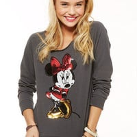Minnie Sequin Sweatshirt