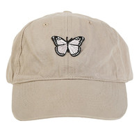 Butterfly Patch Dad Hat