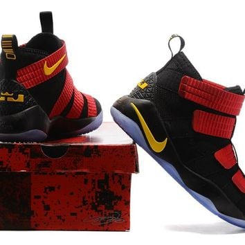 Nike LeBron Soldier 11 Black/Red/Yellow
