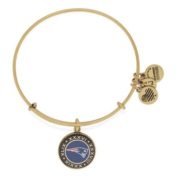 New England Patriots On The 50 Charm Bangle