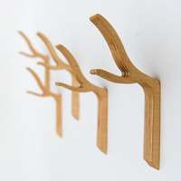 Modern Twig Coat Hook - Twiggy series Large Single Hook