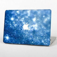 The Unfocused Blue Sparkle Skin for the Apple MacBook Air - Pro or Pro with Retina Display (Choose Version)